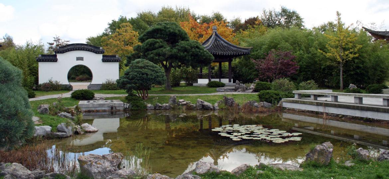 Herbst im Chinesischen Garten