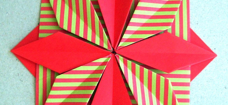 Origamistern by Gerlinde Radenacker